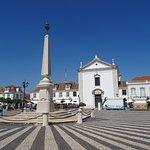 Obelisk and cobbled square