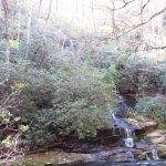 Falls entering Deep Creek.