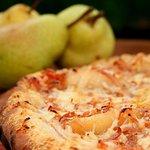 A pizza Do Chef com um toque especial Quintal Fratelli.