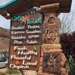 Cafe Soleil - roadside sign