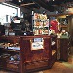 Cafe Soleil - order counter