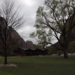 Zion Lodge grounds