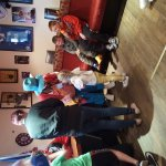 Charity day at the station hotel