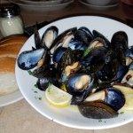 Mussels appetizer.