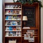 Georgie Cafe and Bar Magazine Rack