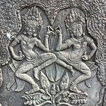 The Heavenly Dancers at Angkor Wat