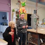 Mary Thornton - Teaching Students about Puppetry at 101 yrs young