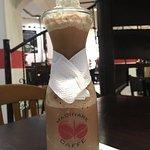 Frapuccino saborizado con Menta, muy recomendable