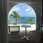 Deluxe Ocean Room 205 balcony with incredible view