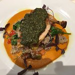 No ordinary Chicken Supreme!  The Chimichurri sauce, couscous salad and succulent chicken were a