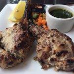 Lamb Chops (that mint sauce is divine!)