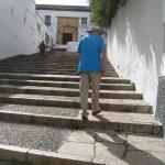 Walking up to Cristos de Los Faroles