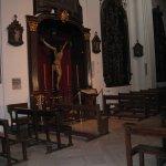 Church interior Cristo de los farols