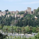Vista de la Alcazaba desde la habitación