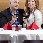 REDS couple dining