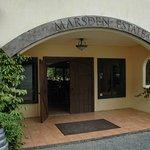 main entrance to restaurant and cellar door