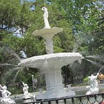Beautiful view of the Forsyth Park Fountain!