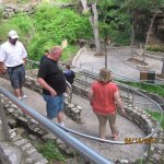 winding path before you go inside caverns