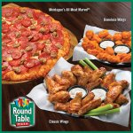 Round out your meal with Classic or Boneless Wings