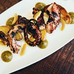 Octopus, grilled a la plancha