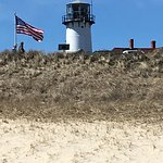Chatham Lighthouse view from beach