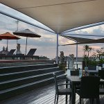 Rooftop Bar, a nice place to relax while sunset