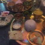 Great Dal Baht/Thali and street view