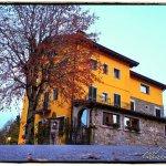 i colori del Ristorante Gabriella in una serata d'autunno