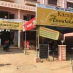 Karaikudi Annalakshmi restaurant..had very special breakfast today..Nice.