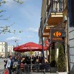 Costa Coffee on Nowy Swiat.
