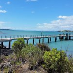 Rangitoto Island Ferry dock
