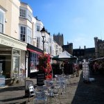 Based in the beautiful Market Place in Wells