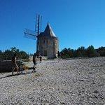 Moulin d'Alphone Daudet de l'extérieur