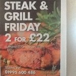 Only premium quality Steaks, which are synonymous with us are served. Unbeatable quality and pri