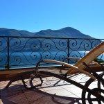 Balkon mit Blick auf Lago Maggiore - Sunstar Hotel Brissago / Tessin