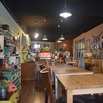 The inside of the cafe