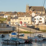 Right on Porthleven Harbour