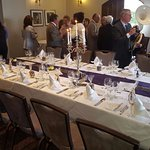 90th birthday lunch in the Fielden Suite