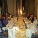 90th birthday dinner in the Leigh Room
