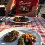 Wie immer - super Steak und das Gemüse war dieses Mal besonders gut!