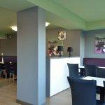 Frühstücksraum in unserem B&B Hotel Bochum-Herne