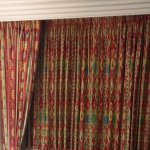 Curtains from the 90's in premium room