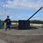 German gun implacement