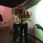 Worker, Rayvon was the best. He acted like a wax figure and had me fooled until I touched him. G
