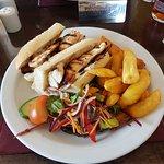 chicken & bacon buguette