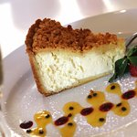 Our famous cheese cake