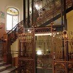 Art Nouveau lift