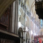 Looking eastwards through the Quire
