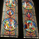 Another colourful example of a stained glass window