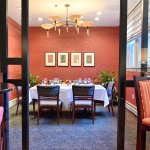 Granite Restaurant offers a private dining room for a more intimate dining experience